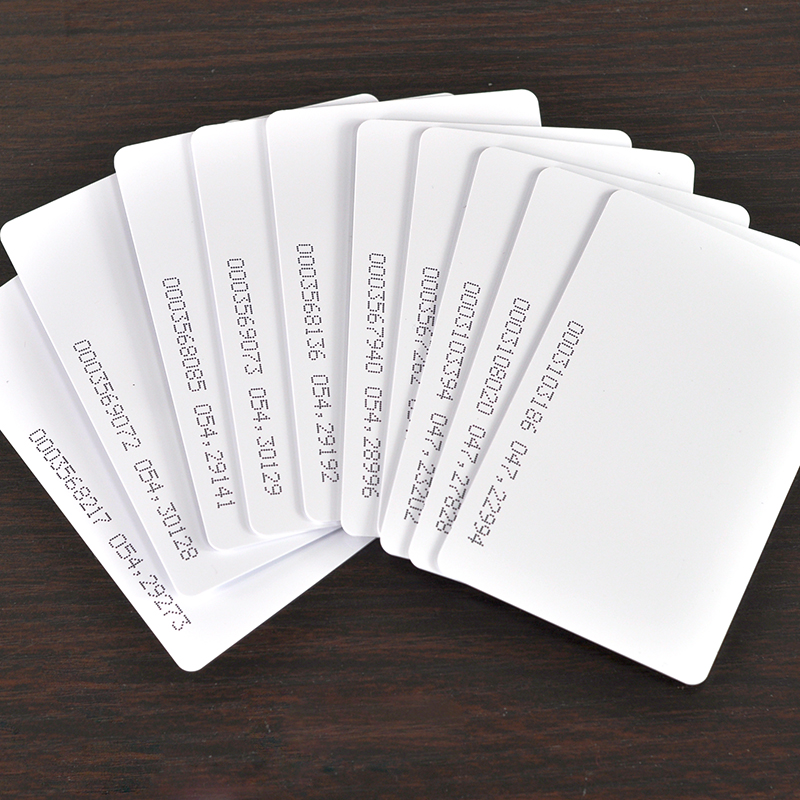 rfid card em id card tk4100 reaction id card for access