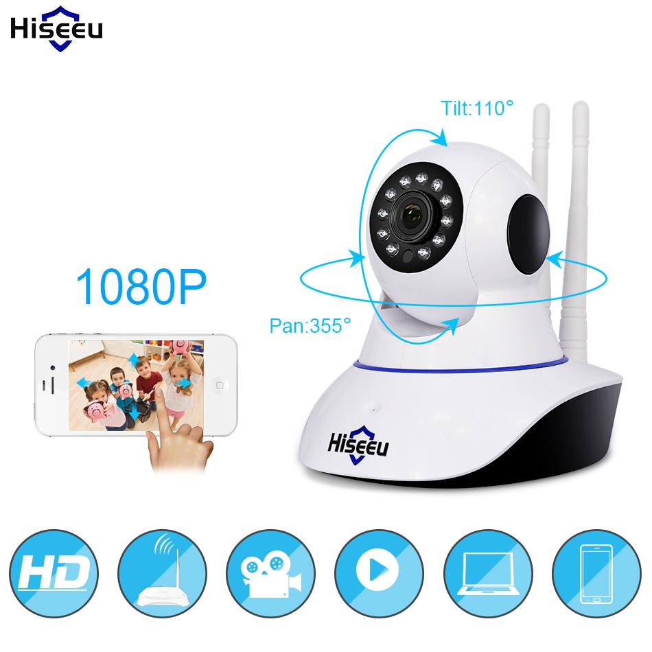 Hiseeu 1080P IP Camera Wireless Home Security Wifi Night Vision Baby Monitor