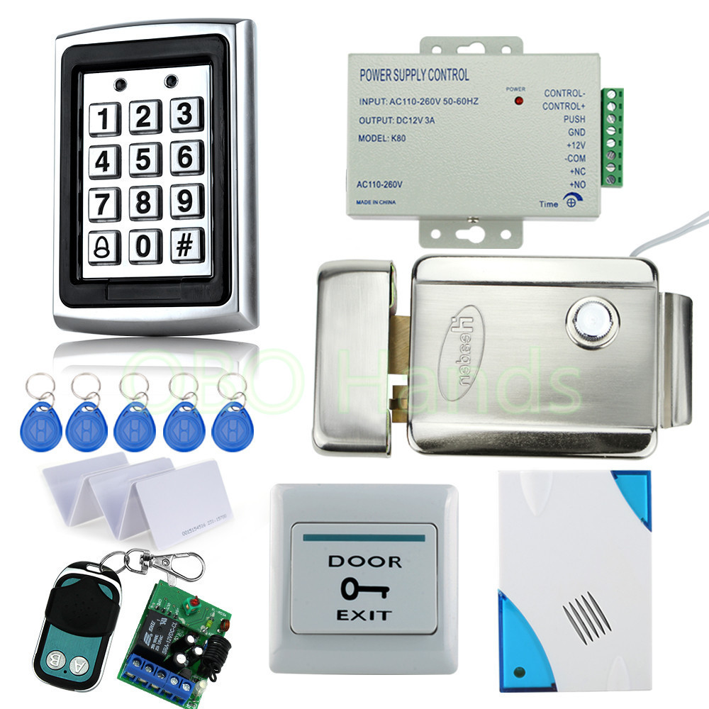 free shipping full door waterproof access control system