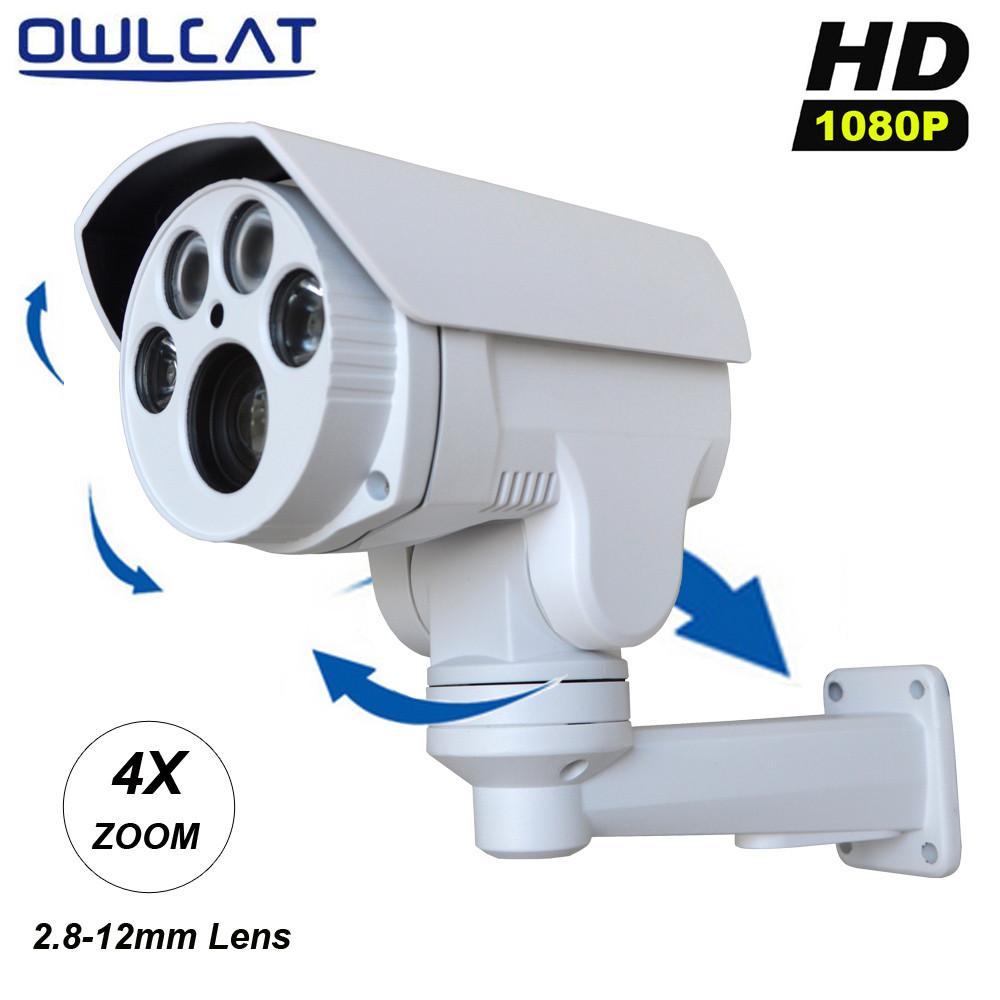 HD 1080P 2MP Mini IP camera Manual Varifocal 2.8-12mm lens ONVIF network CCTV